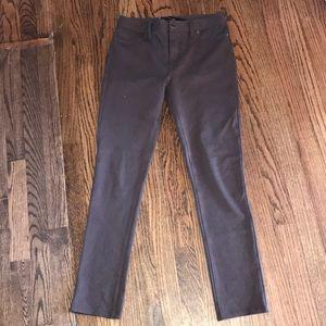 Calvin Klein Jeans Brown Stretch Pants